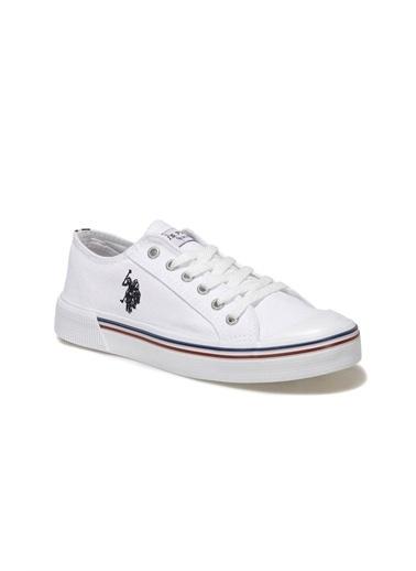U.S. Polo Assn. Kadın Ayakkabı Penelope 100696337 Beyaz